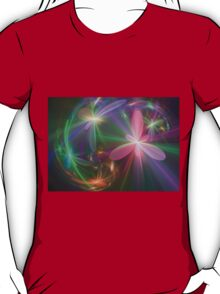 Ethereal Flowers Dancing T-Shirt