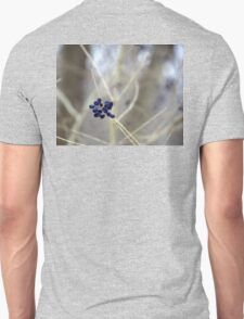 Black berries in a Winter Bokeh. T-Shirt