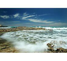 Wave flow Photographic Print