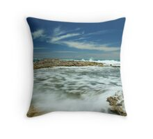 Wave flow Throw Pillow