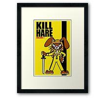 Kill Hare Framed Print