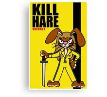 Kill Hare Canvas Print