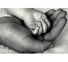 My World In Your Hand Photographic Print