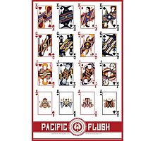 Pacific Flush - Red Photographic Print