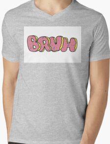 Bruh Donut  Mens V-Neck T-Shirt