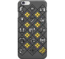 Weapons of MonHun iPhone Case/Skin