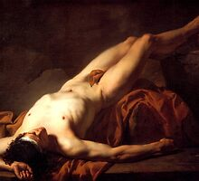 The Body of Hector by Jacque Louis David by troycap