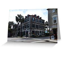Charleston French Quarter Gallery Greeting Card