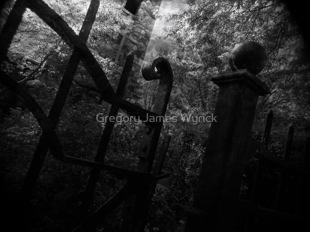 Cemetery Gates by Gregory James Wyrick