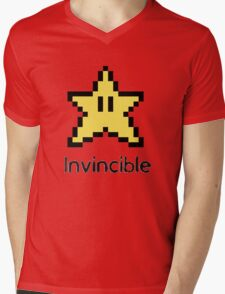 Invincible Mens V-Neck T-Shirt