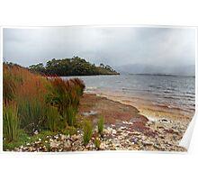 Ted's Beach - Lake Pedder, South West Tasmania  Poster