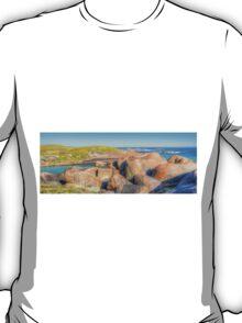 Elephant Rocks Panorama - HDR - Denmark - WA T-Shirt