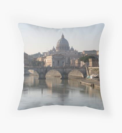 Saint Peters in colour Throw Pillow