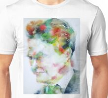F. SCOTT FITZGERALD - watercolor portrait Unisex T-Shirt