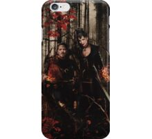 The Prince of Thieves and his Queen iPhone Case/Skin