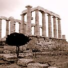 Temple of Poseidon by MEV Photographs