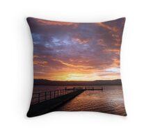 Lake Illawarra  Throw Pillow