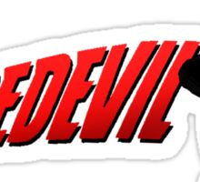 Daredevil and his logo... Sticker