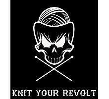 Knit Your Revolt 1 Photographic Print