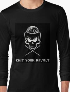 Knit Your Revolt 1 Long Sleeve T-Shirt