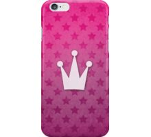 Cute princess crown pattern iPhone Case/Skin