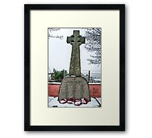 Monmouth Castle War Memorial 1 Framed Print