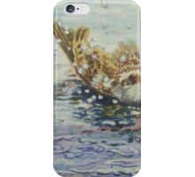 Sparrows Bathing iPhone Case/Skin