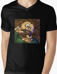 All excited! Mens V-Neck T-Shirt