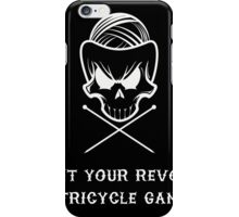 Knit Your Revolt Tricycle Gang1 iPhone Case/Skin