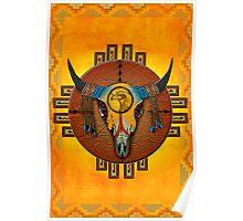 Spirit of the Buffalo Sun (Vertical) Poster