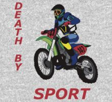 death by sport dirt bike jumping by karen sheltrown
