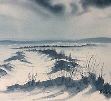 Winter Light on Lastingham Rigg by Glenn  Marshall