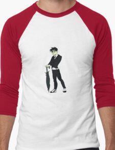 The Waddling Master of Foul Play Men's Baseball ¾ T-Shirt