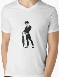 The Waddling Master of Foul Play Mens V-Neck T-Shirt