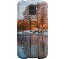 Cold Ice, Warm Light – Lake Ontario Impressions Samsung Galaxy Case/Skin