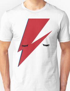 Minimalist Aladdin Sane album cover T-Shirt