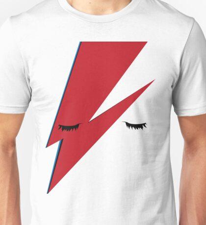 Minimalist Aladdin Sane album cover Unisex T-Shirt