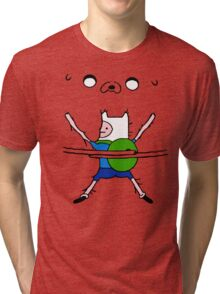 Finn&Jake Hug Tri-blend T-Shirt