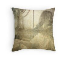 The Ghost of Her Vows Throw Pillow