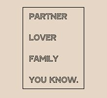 Gallavich Mickey Milkovich partner lover family you know. T-Shirt