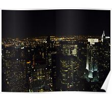 Manhattan After Dark Poster