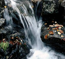 Waterfall off Illgill Head, Wastwater, English Lake District by newbeltane