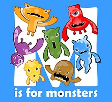 M is for Monsters! by MariaFernandes