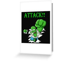 Attack!! Greeting Card