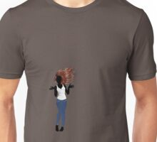 Girl in Casual Style  3 Unisex T-Shirt