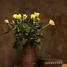 yellow roses by danapace