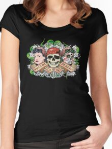Drink and The Devil had done for the rest Women's Fitted Scoop T-Shirt