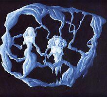 Fusion de galaxie by Lionel Tosan
