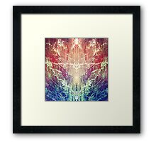 Forest Prism Framed Print