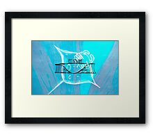 AZTECSURF MANTARAY POSTER Framed Print